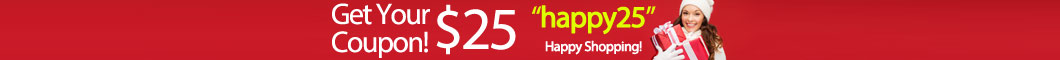 Get your $25 coupon at your first order on Hantano!